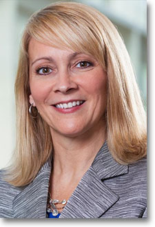 Kate Gutman. UPS senior vice president of sales and marketing