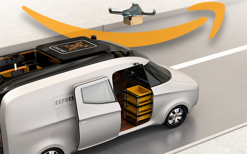 Is Amazon Creating Self-Driving Cars for Delivery?