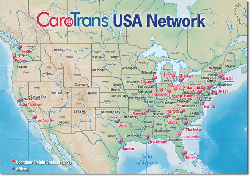CaroTrans Addresses U.S. West Coast Supply Chain Risk With ...