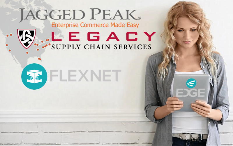 Jagged Peak Expands FlexNet Fulfillment Network with New Partner LEGACY Supply Chain Services