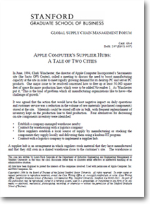 """apple apple case of three supplier hubs essay Free essay: case analysis of """"apple inc in 2012"""" this is an individual submission submissions may be up to 1,250 words for this write-up, please answer."""