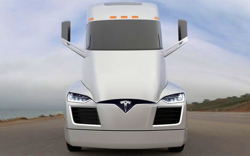 Tesla Developing a Fleet of Autonomous Semi Trucks
