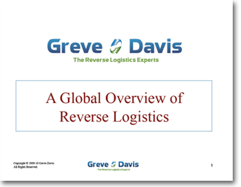 term paper on reverse logistics Choose a case study, (i chose, 35 case studies on reverse logistics relationships) review the information and pull together the past exercises to develop your methodology and supporting methods to either agree or disagree with the case study.