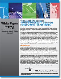 effects of globalization on supply chain management Globalization has a dramatic impact on strategic sourcing, logistics excellence, and supply chain management here's how your company can become a preferred employer in today's global age.