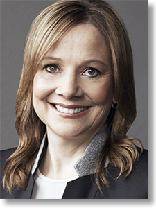 Mary Barra GM Chairman and CEO