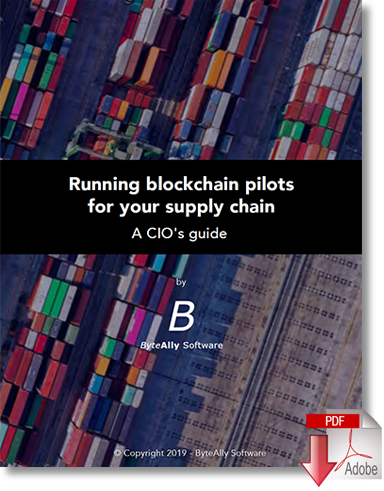 Download the White Paper Running Blockchain Pilots for your Supply Chain