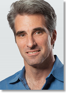 Craig Federighi, Apple's senior vice president of Software Engineering
