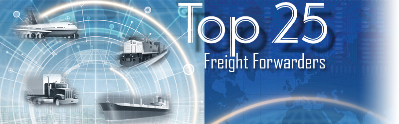 Top 25 Freight Forwarders Thriving in the Complexity of