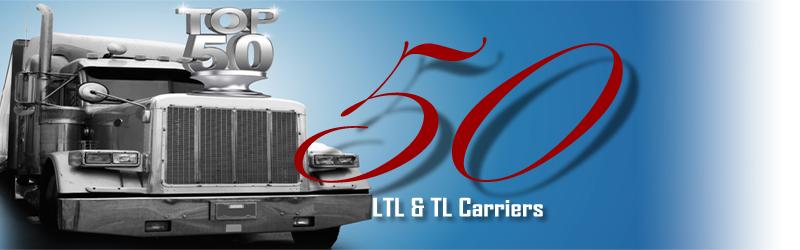 Logistics Management's Top 50 Less-than-Truckload