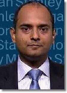 Morgan Stanley analyst Ravi Shanker