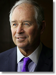 Stephen A. Schwarzman is chairman, CEO and co-founder of Blackstone