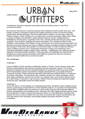 Urban Outfitter's Case Study