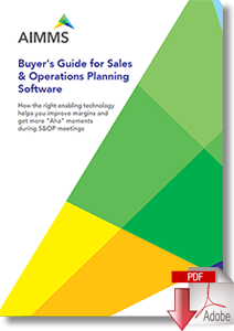 Buyer's Guide for Sales & Operations Planning Software