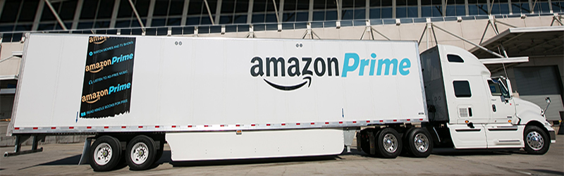 amazon fleet of trailers