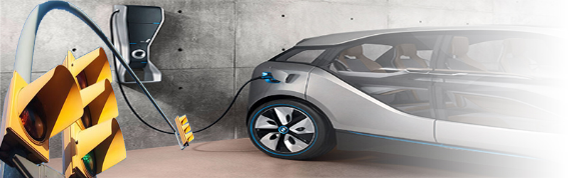 Bmw Develops Street Lights With Electric Car Charging Sockets