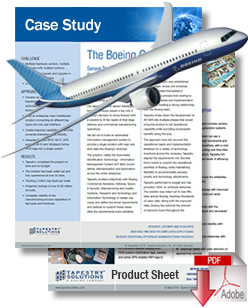Download Boeing Case Study and ESI Product Sheet