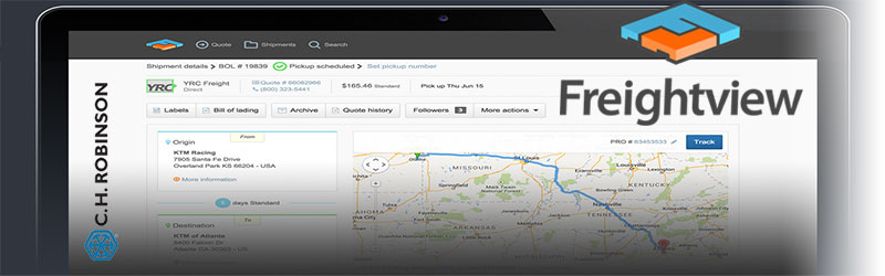C H Robinson Introduces Freightview For Small And