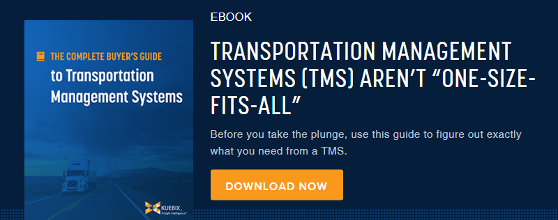 Download The Complete Buyer's Guide to Transportation Management Systems