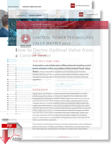 Download Control Tower for Chief Financial Officers
