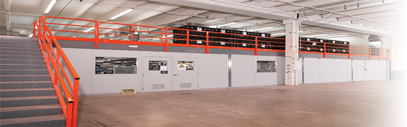 Cubic Designs Mezzanine : Mezzanine helps honeywell optimize space and accelerate