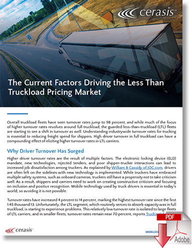 Download Current Factors Driving the Less Than Truckload Pricing Market