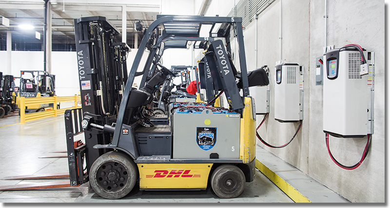 Moving Truck Companies >> DHL Global Forwarding Electric Forklift Conversion - Supply Chain 24/7