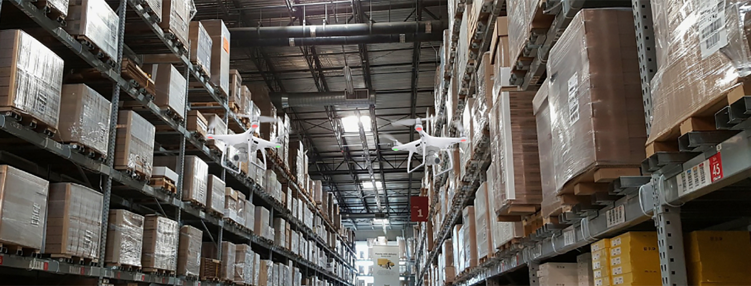 Digital Warehouse Transformation: Using Autonomous Drones