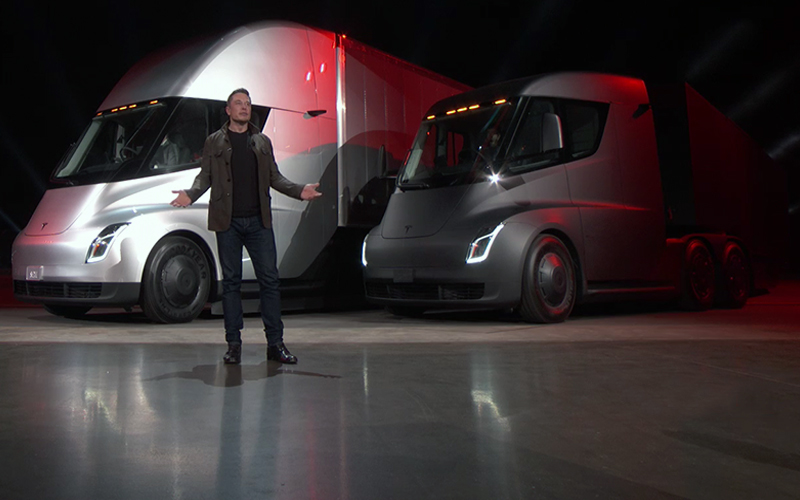 Tesla Enters Freight Hauling Trucking Business - Supply