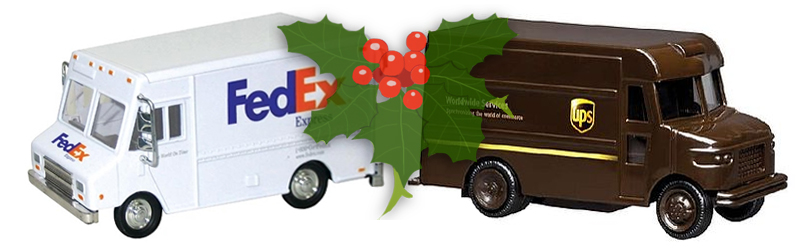 fedex  ups prepare for a better holiday season