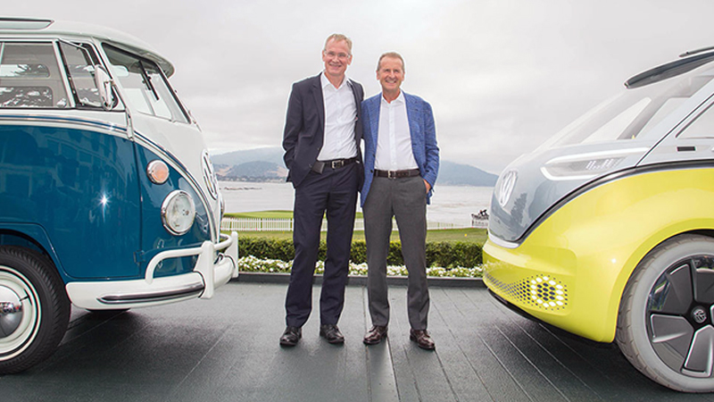 The Vw Bus Is Back And It S All Electric Supply Chain 24 7
