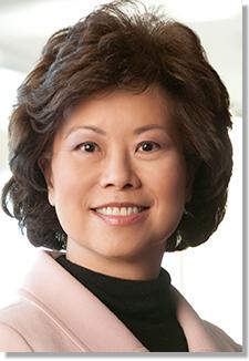 Incoming Transportation Secretary Elaine Chao