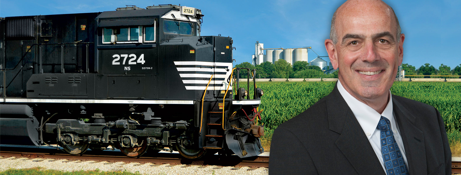 """Intermodal Gives Shippers, 3PLs Relief from Tight Trucking Market"" Jeff Heller, Norfolk Southern"