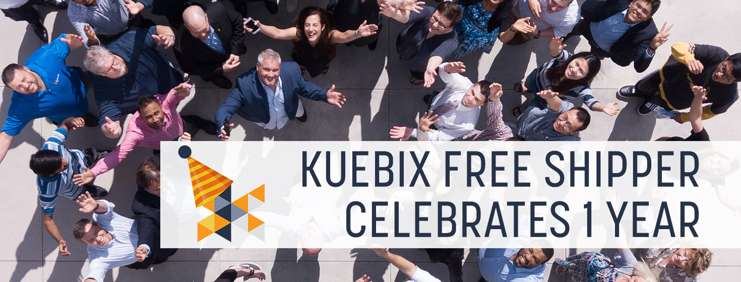Kuebix Free Shipper: What a Difference a Year Makes