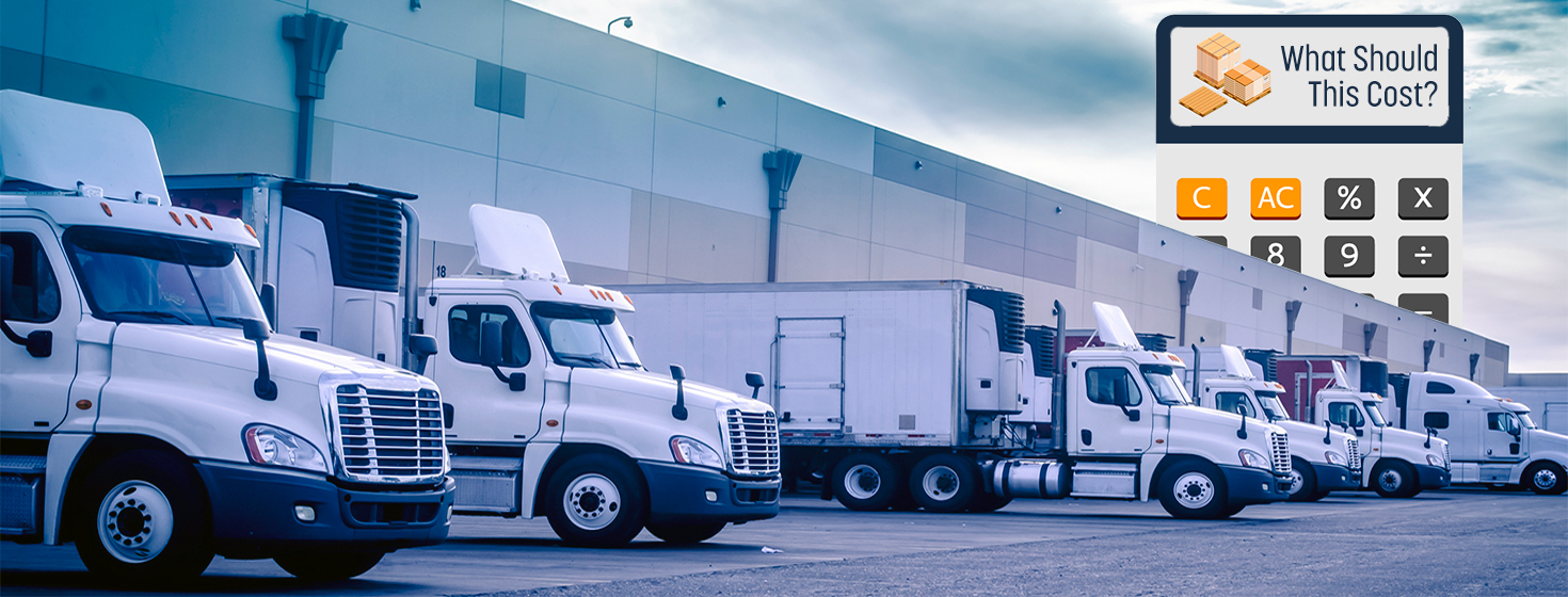 Calculating less than truckload freight rates what should for Motor freight shipping rates
