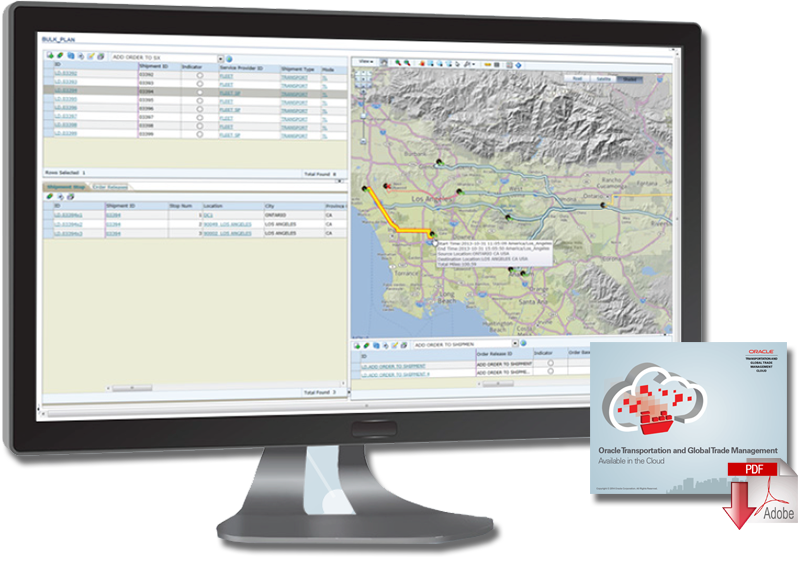 New Releases of Oracle Transportation Management and Oracle