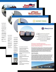 Download PINC Yard Management Systems: 4 Case Studies