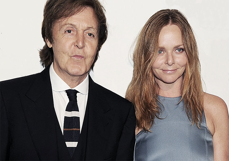 Stella McCartney with her father Paul McCartney