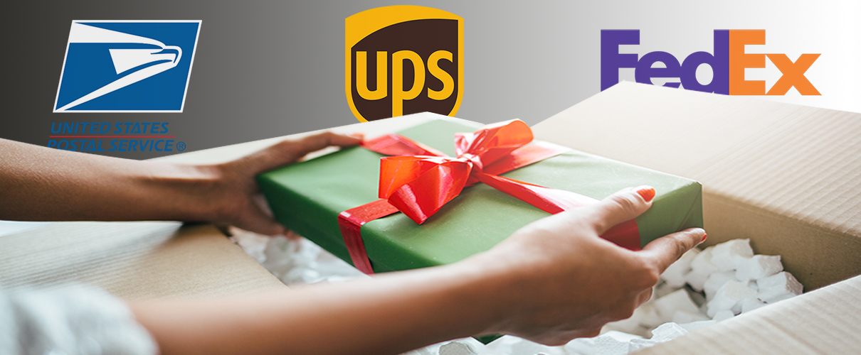 Strong Holiday On-Time Delivery Performance for USPS, UPS, and FedEx