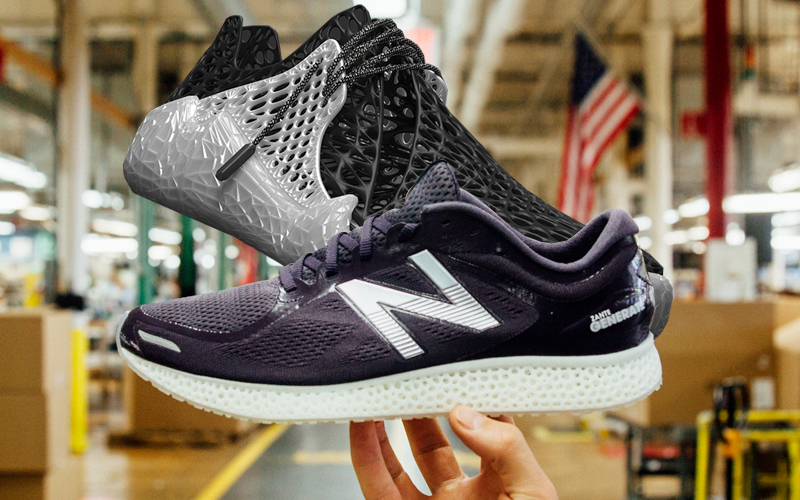 The 3D-Printed Athletic Shoe Race and What It Means For Your Retail Based  Supply Chain - Supply Chain 24/7