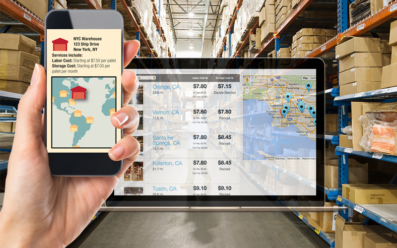"The Emerging ""Uberization"" of Dynamic On-Demand Warehousing for"