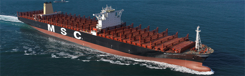The World S Biggest Container Ship For Now Supply