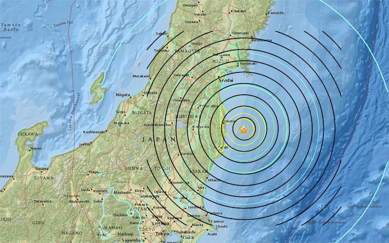 Tsunami Warning Issued After Quake Off Fukushima in Japan ...