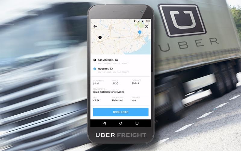 Resultado de imagen de uber freight