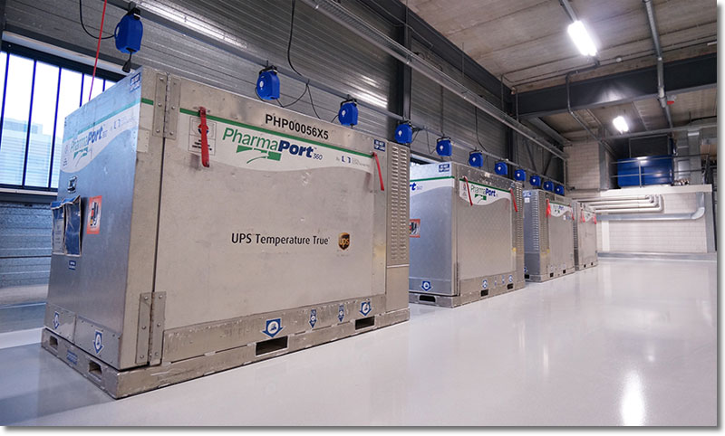 Ups Dhl Building New Cold Chain Infrastructures For