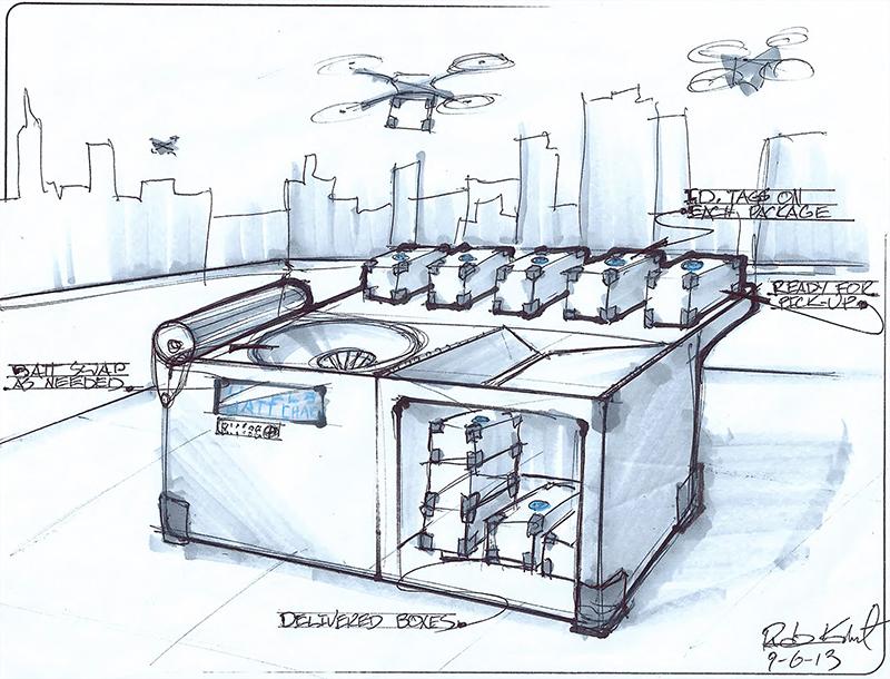 UPS, FedEx, Amazon - Drones