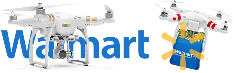 Walmart Seeks Amazon Like Drones For Delivery