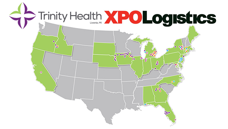 Xpo logistics to work with trinity health on building a for Don robinson motors st cloud minnesota
