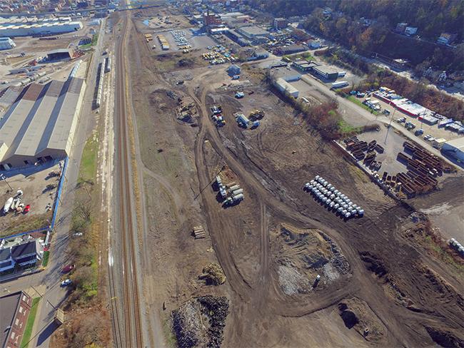 CSX's New Intermodal Rail Terminal Connects Pittsburgh, PA to