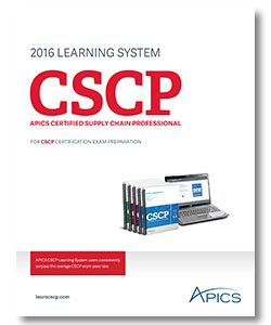 Apics certified supply chain professional (cscp) program ppt.