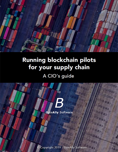 Running Blockchain Pilots for your Supply Chain - Supply